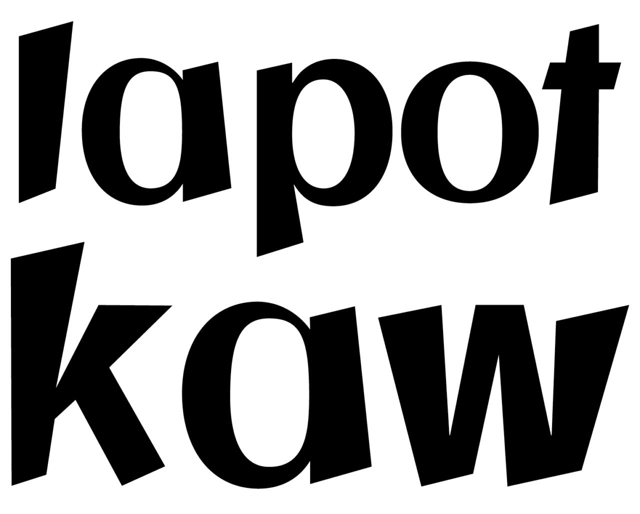 flattersatz Font chopsticks